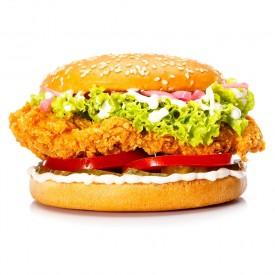 Бургер с курицей «Chiken Strips Fresh»