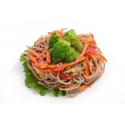 Горячие «Лапша гречневая с овощами»
