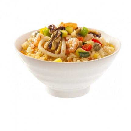 Горячие «Рис с морепродуктами»