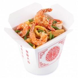 Лапша Wok «Креветки в соусе по-сычуански»