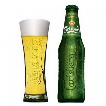 Бутылочное пиво «Carlsberg»