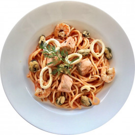 Спагетти «Дары моря»