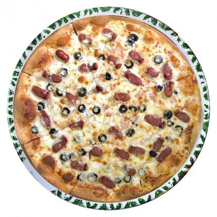 Пицца «с Охотничьей колбаской»